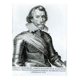 1. Herzog William-Cavendish von Newcastle Postkarte