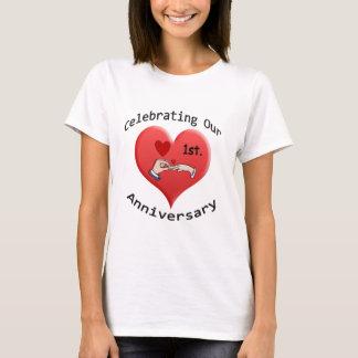 1. Jahrestag T-Shirt