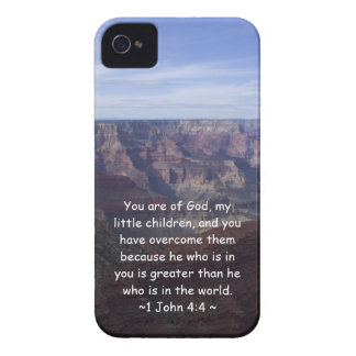 1 John-4:4 iPhone 4 Case-Mate Hülle
