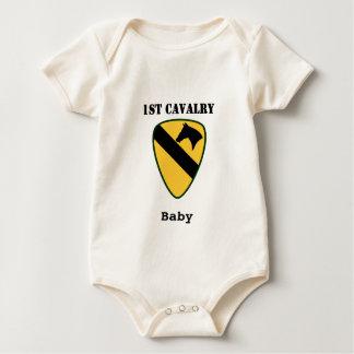 1. Kavallerie-Abteilung Baby Strampler
