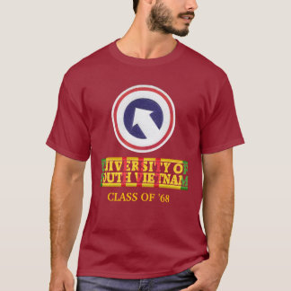 1. Klotz. Cmd - Universität von Südvietnam-Shirt T-Shirt