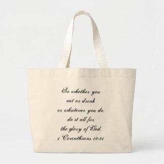 1 Korinther-10:31 Tasche