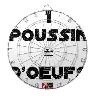 1 KÜCKEN = EIER - Wortspiele - Francois Ville Dartscheibe