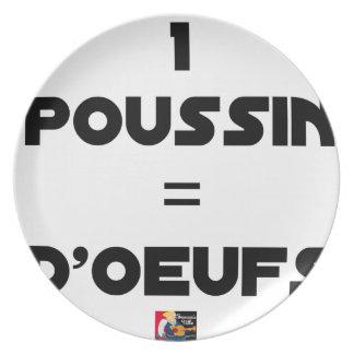 1 KÜCKEN = EIER - Wortspiele - Francois Ville Teller