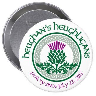 1. Logo des Jahrestags-HH Runder Button 10,2 Cm