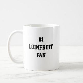 #1 LOINFRUIT FAN KAFFEETASSE