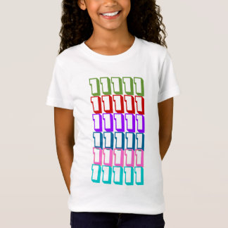 #1 LUCKY7 7COLOR NUMBER1 STAPEL-SIEGER T-Shirt