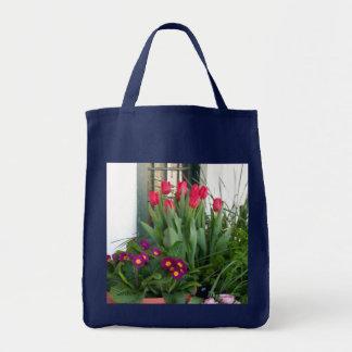 1 Primel-Tulpen Tragetasche