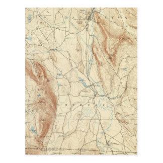 1 Sheffield-Blatt Postkarte