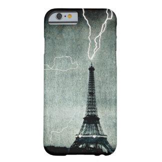1. Streik - Blitz schlägt Eiffelturm 1902 Barely There iPhone 6 Hülle