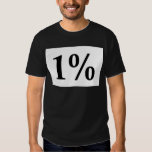 1% T SHIRTS