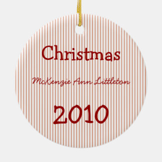 1. Verzierungen des Babys Weihnachts Keramik Ornament