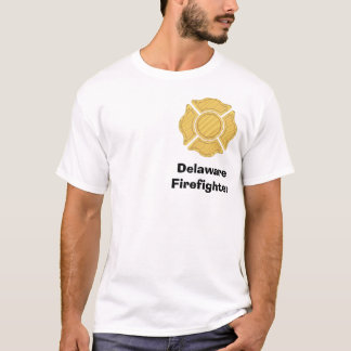1LOGO11, DelawareFirefighter T-Shirt