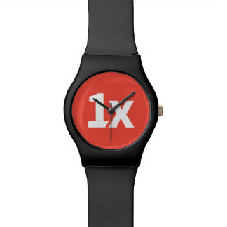 "1x ""Deadline"", black watch Armbanduhr"