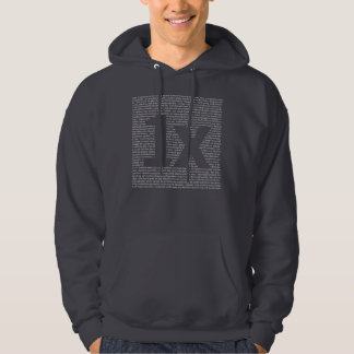 "1x ""drush"" Men's hoodie"
