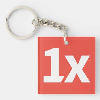 1x Key fob Schlüsselanhänger