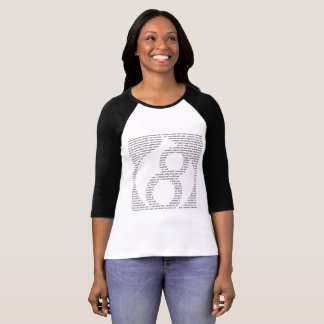 "1x ""Ledies Drupal"", Raglan-Shirt für Frau T-Shirt"