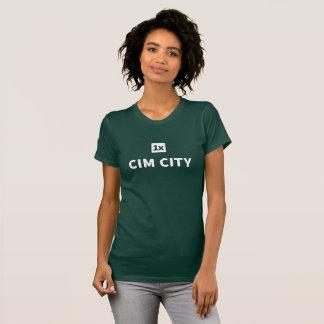 "1x Women's tee ""Cim City"""