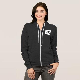1x Women's zip sweater Hoodie