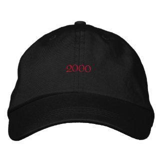 2000 gestickter Hut Baseballkappe