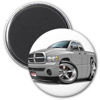 2003-08 RAM-Viererkabel-Silber-LKW Runder Magnet 5,1 Cm