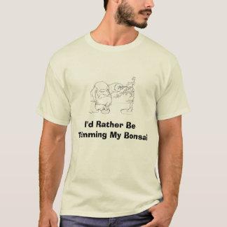 2004-10-02_dwarf_bansai, würde ich vielmehr… T-Shirt