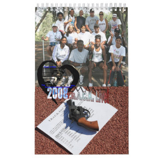 2008 T.R.A.C.K. leben! Team-Kalender Abreißkalender