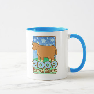 2009 Kinderjahr der Ochsen-großen Tasse