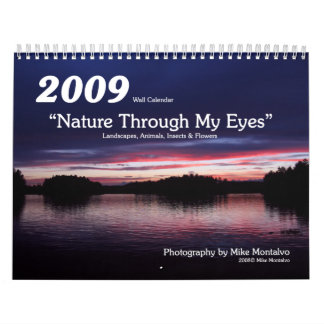 """2009 """"Natur durch meine Augen"""" Wandkalender"""