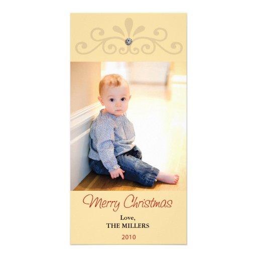 2010 bling Weihnachtskarte Photokartenvorlagen