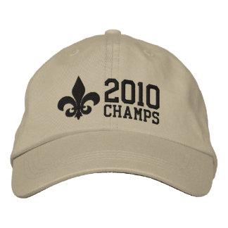 2010 Champions-Lilie NOLA Bestickte Caps