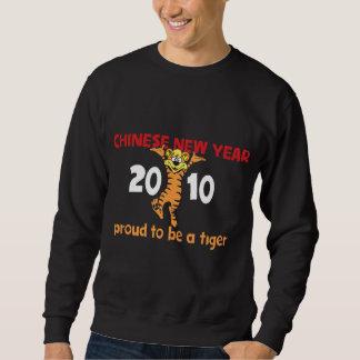 2010 Chinesisches Neujahrsfest des Tigers Sweatshirt