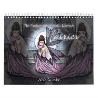 2010 Fee-Kalender-Wandkalender Molly Harrison Wandkalender