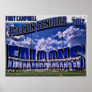 2011 Falke-Senioren - Klasse von 2012 Plakatdruck