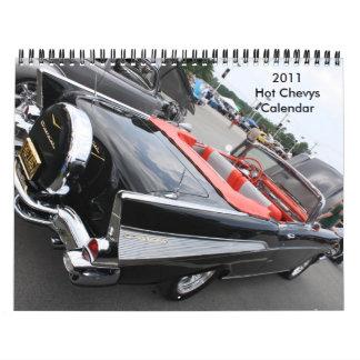 2011 heißer Chevys Kalender