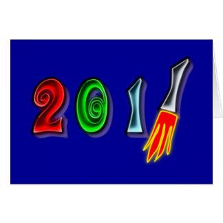 2011 Neujahr new Year Karten