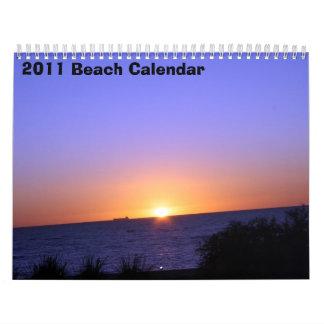 2011 Strand-Kalender Kalender