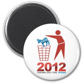 2012 Abfall-DM Runder Magnet 5,7 Cm