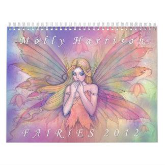 2012 Fee-Kalender durch Molly Harrison Abreißkalender