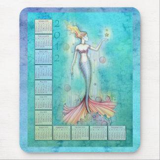 2012 Kalender-Meerjungfrau Mousepad