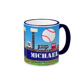 2012 Kindersport-Baseball-Tassen-personalisiertes Ringer Tasse