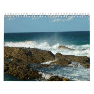 2012 Wasser-Meerblick-Kalender Südgold coast Kalender