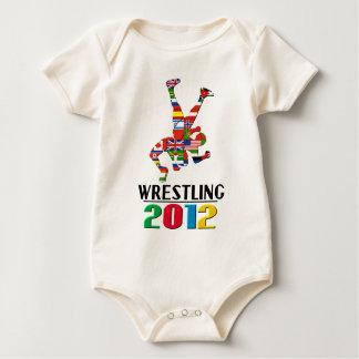 2012: Wrestling Baby Strampler