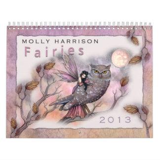 2013 Fee-Kalender durch Molly Harrison Kalender