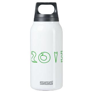 2013 Schlangen-Jahr Isolierte Flaschen