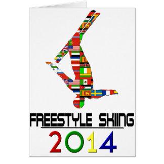 2014: Freistil-Skifahren Karte