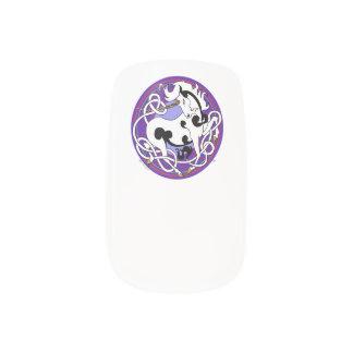 2014 Nerz-Art-Einhorn-Nagel-Verpackungen - Minx Nagelkunst