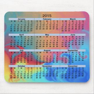 2015 Kalender-Feuer und Eis Mousepad