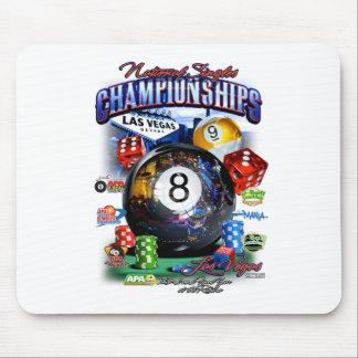 2015 nationale Single-Meisterschaft Mousepad
