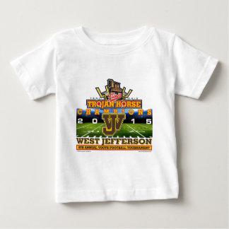 2015 Trojan Horse - Westjefferson Roughriders Baby T-shirt